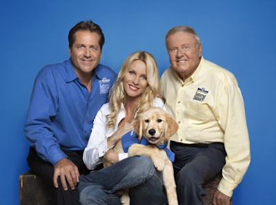 Jimmy Van Patten, Nicollette Sheridan, Dick Van Patten