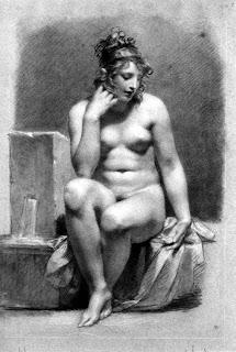 Pierre-Paul Prud'hon Nude Study