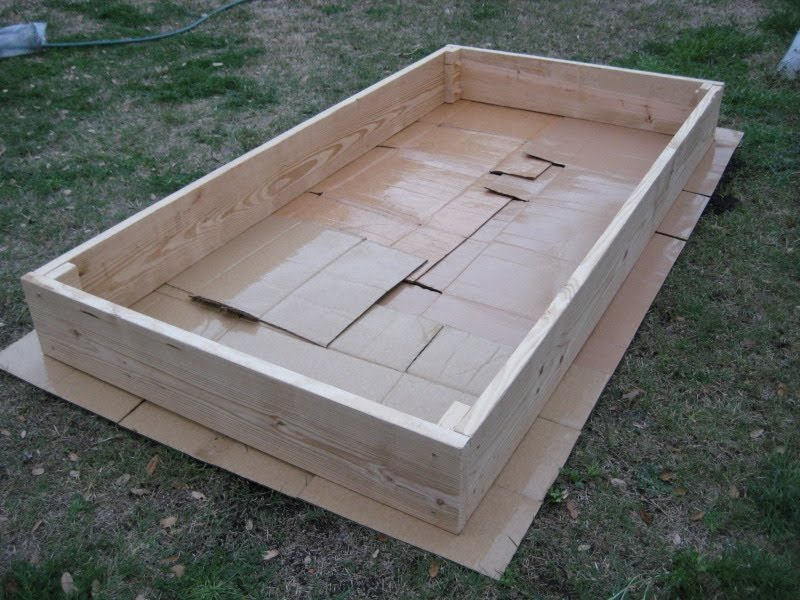 I can totally make that diy raised vegetable garden bed for Diy vegetable garden