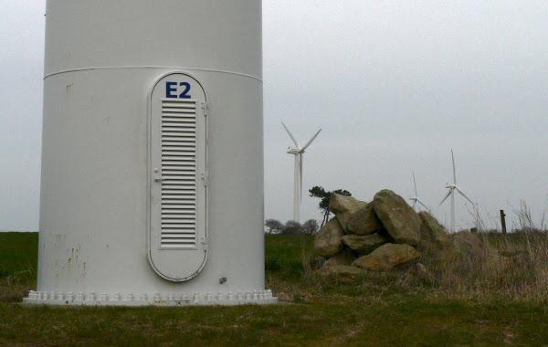 Parc éolien du Cap Sizun (Finistère)