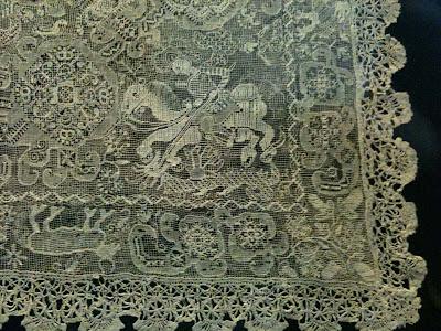 Vintage Filet Crochet Pattern Chair Back & Oval Doily