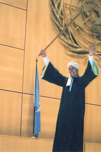 Samir Hesein at UNESCO Belgium 2001