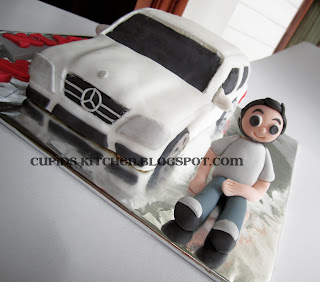 Cupid Kitchen Mercedes Benz Cake