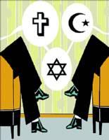 Simbolos Religiosos en Edificios Públicos