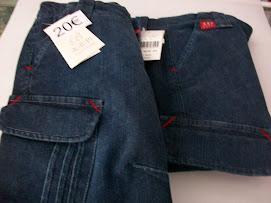 Pantalon corto vaquero tallas 5 y 10 Krp