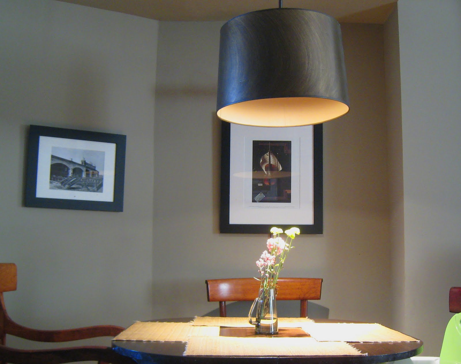 Mowery Marsh Architects LLC Dining Table Pendant - Light above kitchen table height