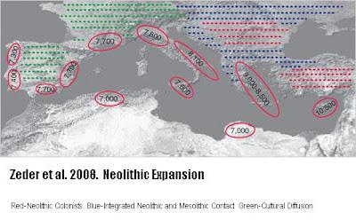Neolithic Revolution Map Dagens skandinavere og...