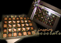 35pcs pralines in window box