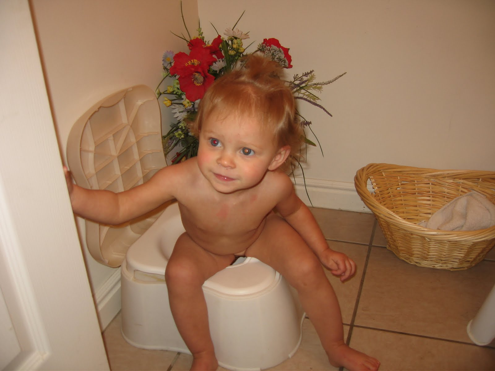 Little Girl Potty Pee