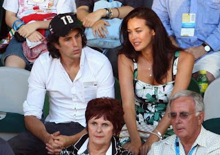 Celebrities at the Australian Open