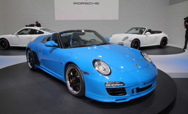 2011 porsche 911 speedster 2010 paris auto show car. Black Bedroom Furniture Sets. Home Design Ideas