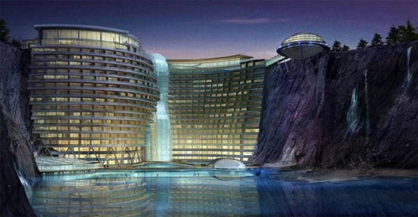 Lifestyle cafe top 10 amazing futuristic concept hotels for Amazing hotels of the world