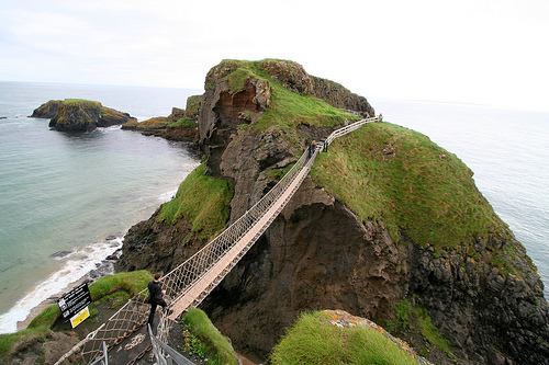 World's Scariest Bridges Never stare downstairs Seen On www.coolpicturegallery.us