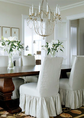 a small space dining room.