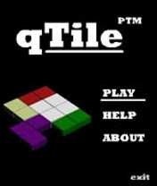 qtile00 - qTile - a new Flash Lite game from Pasi Manninen