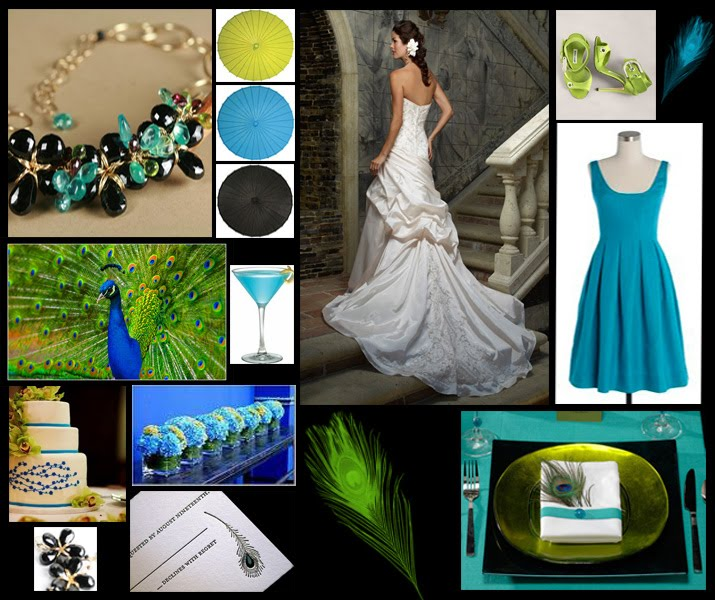 Dkengi Bridal Blog Peacock Wedding Theme