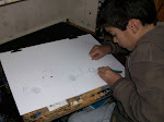 Agustín y sus diseños