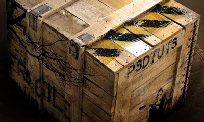 Деревяннуя коробка