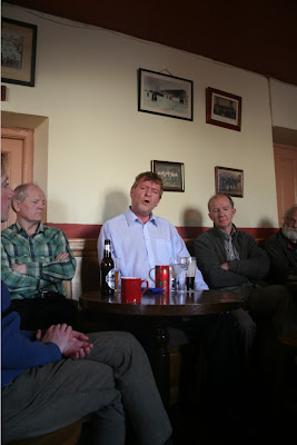 Barry Gleeson in Mick Murphys during Ballymore Eustace Singing Festival