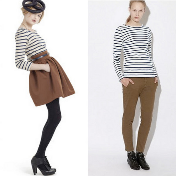 Fall Fashion-Do #2: Nautical Stripes