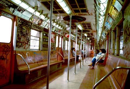 new york city subway. The Bowery Boys: New York City