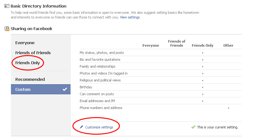 how to see profile as someone else facebook