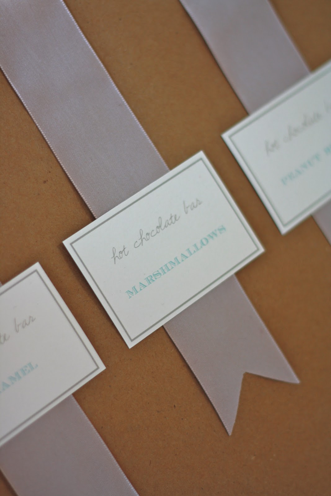 Hot Chocolate Bar Tags Julie Blanner