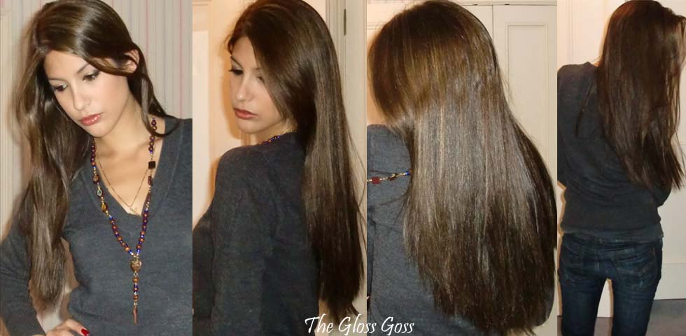 Despite being very long, my natural hair is incredibly thin and can look a