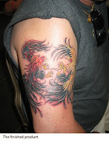 Fighting Rooster Tatto...