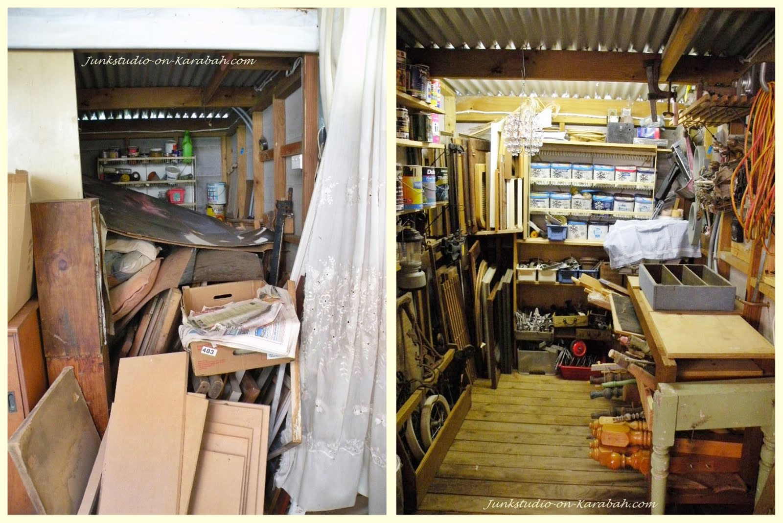 Junk-it Junction: The girl's Junk shed!