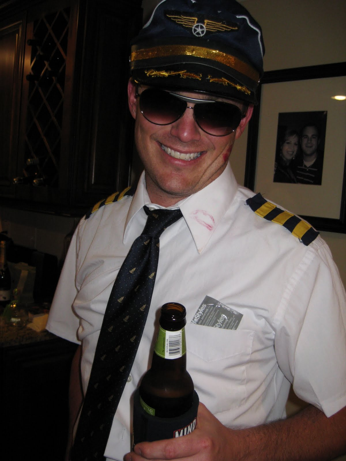 At work on Monday I told people we dressed as an airline pilot and a flight attendant... though as a couple we had a different name for our costume.  sc 1 st  Katy Streams Her Consciousness & Katy Streams Her Consciousness: Halloween 2010 Costumes Revealed