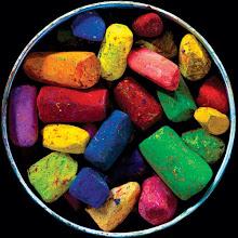 no final do arco iris , não se encontra um pote com ouro , mas uma bela  caixa com lápis de cor