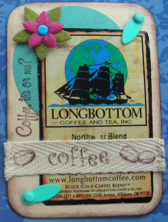 Coffee Bag Label ATC