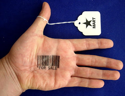 Barcode tattoos aren't uncommon any more. UPC barcodes are the most common