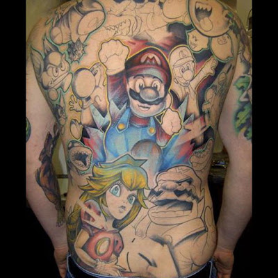 The 25 Most Ugliest Gaming Tattoos