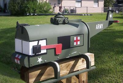 Strange Mailboxes