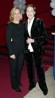 Julie  Andrews and daughter Emma Walton