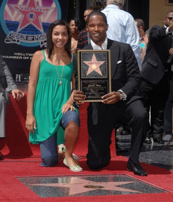Jamie  Foxx and his daughter