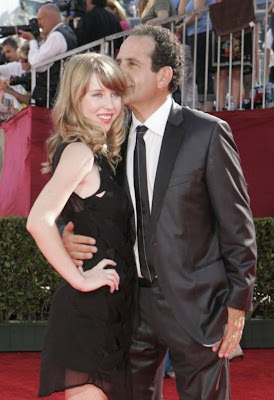 Tony  Shalhoub and daughter
