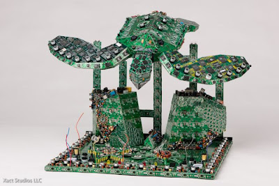 PCB Sculptures by Steven Rodrig Seen On www.coolpicturegallery.net