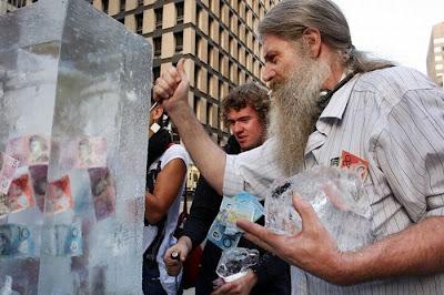 Frozen Money Seen On www.coolpicturegallery.net