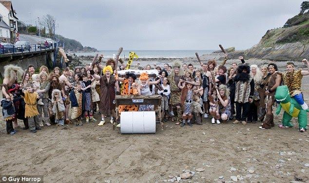 FlintstonesThemed Wedding
