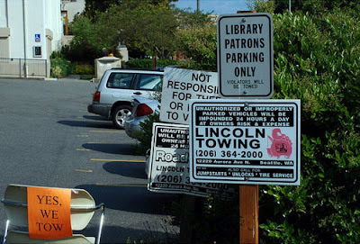 Threatening Library Signs Seen On www.coolpicturegallery.net