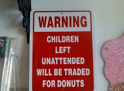 26 Funny Signs about Unattended Kids
