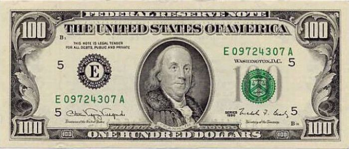 how 100 dollar bill changed in