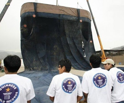 World Record for the largest pair of jeans