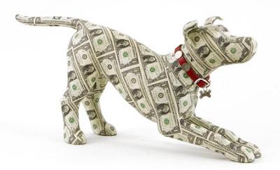 moneysculptures1, Para ile yapılan heykel resimleri