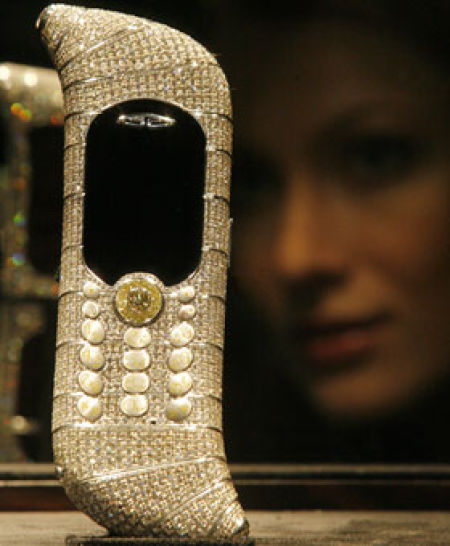 Damn Cool Pictures: The World's Most Expensive Cell Phone