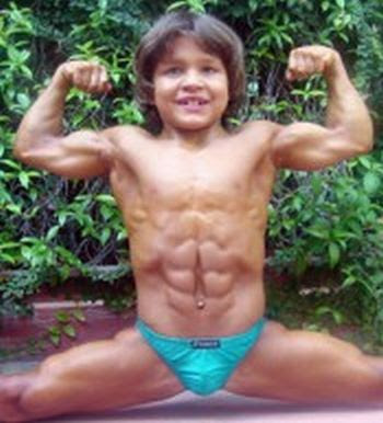 Richard Sandrak - The World's Strongest Boy ~ Damn Cool