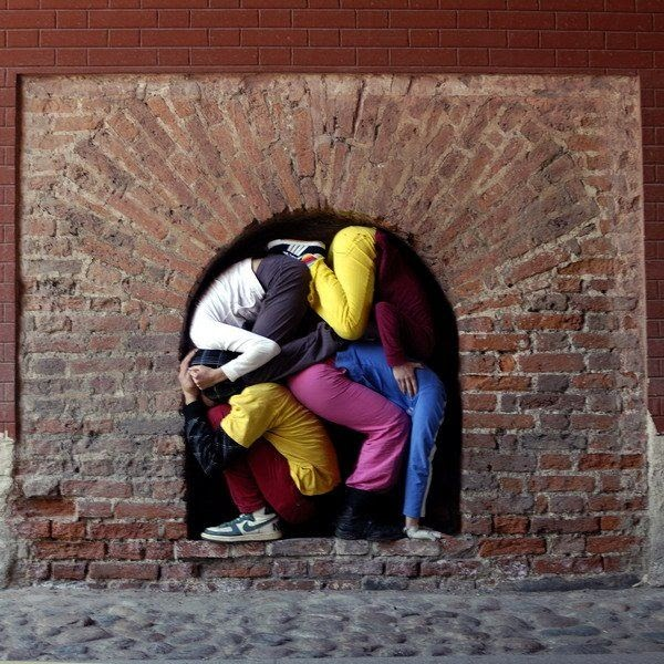 Bodies In Urban Spaces By Willi Dorner Damn Cool Pictures